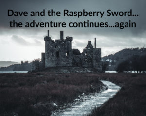 Dave and the Raspberry Sword the adventure continues again